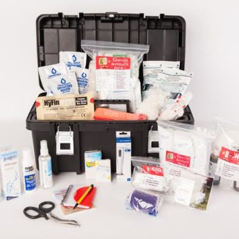 First Aid Kit - new with contents - web sizze
